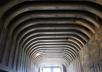 Cubierta piso alto de la gakeria