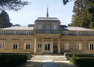 Entrada al Jardín Francés